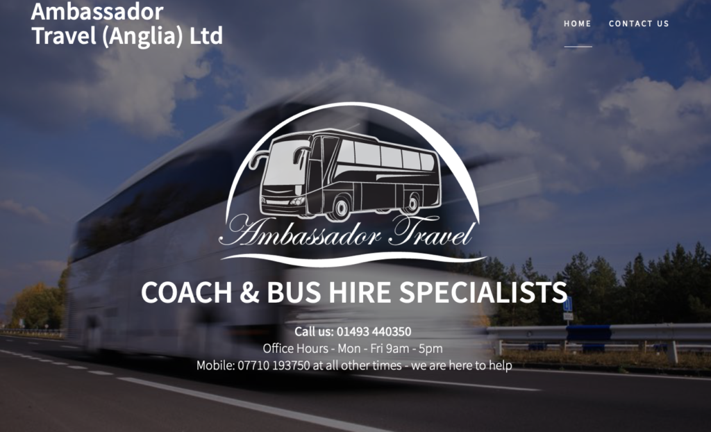 Ambassador Travel Anglia Ltd